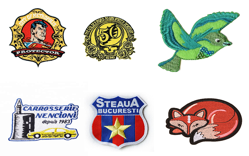Embroidered badges manufacturer