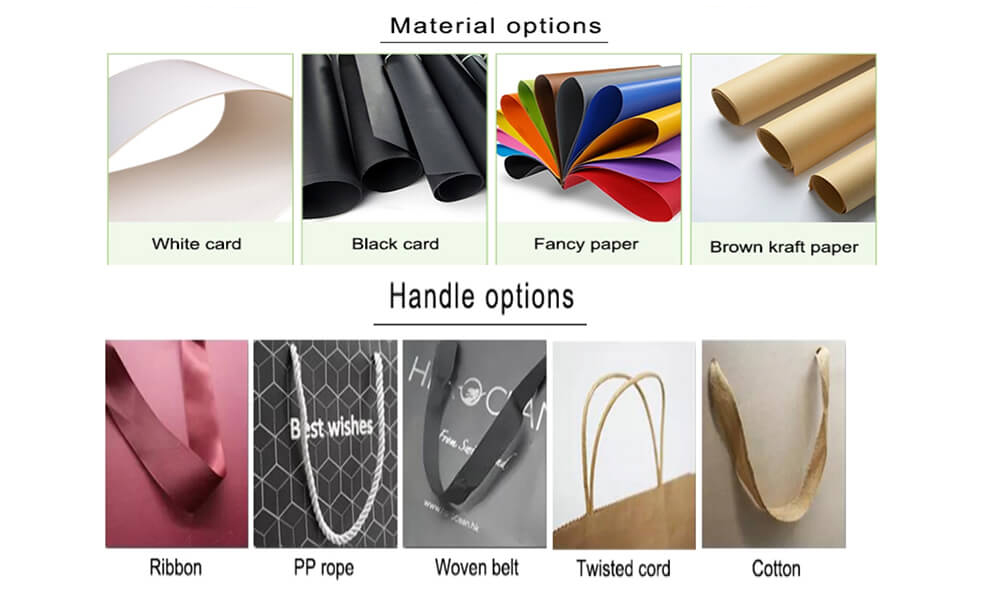 Material options for paper bag
